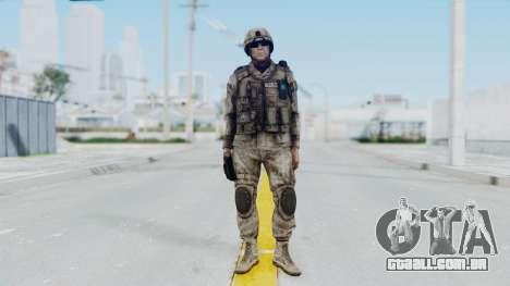 Crysis 2 US Soldier 1 Bodygroup A para GTA San Andreas segunda tela