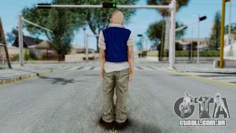 Bully Insanity Edition - Jimmy para GTA San Andreas terceira tela