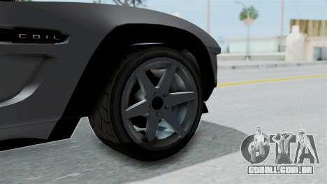 GTA 5 Coil Brawler Coupe IVF para GTA San Andreas traseira esquerda vista