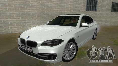 BMW 530XD F10 para GTA San Andreas