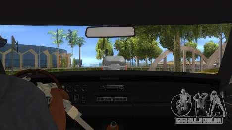 1969 Dodge Charger Monster Truck para GTA San Andreas vista interior