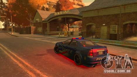 Albany Police Stinger para GTA 4 vista direita
