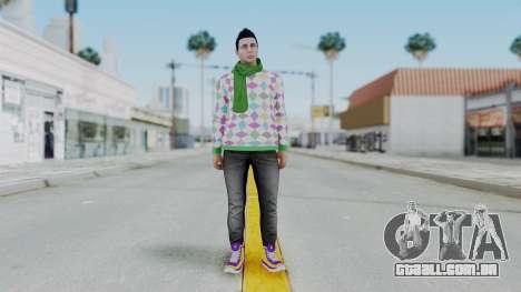GTA Online Skin (DaniRep) para GTA San Andreas segunda tela