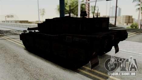 Point Blank Black Panther Rusty para GTA San Andreas esquerda vista