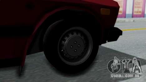 Yugo GV US para GTA San Andreas traseira esquerda vista