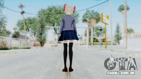 Sakura Chiyo (Gekkan Shoujo) para GTA San Andreas terceira tela