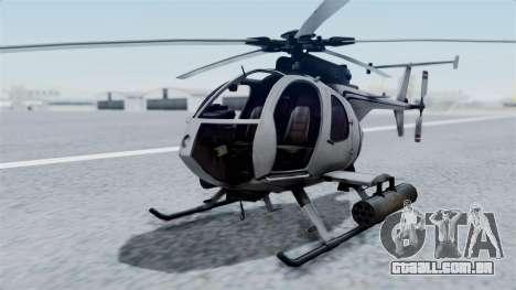 Makarovs Private MD-500 para GTA San Andreas