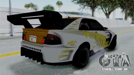 GTA 5 Karin Sultan RS Drift Big Spoiler PJ para o motor de GTA San Andreas