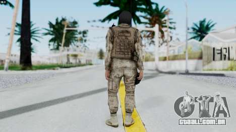 Crysis 2 US Soldier 8 Bodygroup A para GTA San Andreas terceira tela