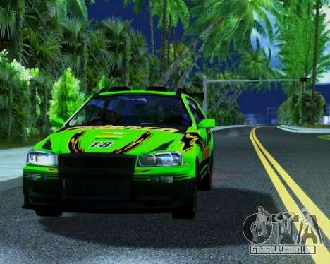 Nissan Stagea Tunable para GTA San Andreas