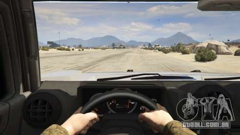 GTA 5 Hummer H2 voltar vista