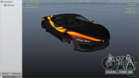 Jester Carbon Line para GTA 5