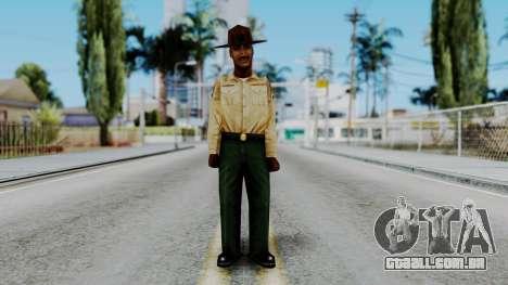 Instructor v2 from Half Life Opposing Force para GTA San Andreas segunda tela