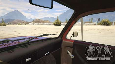 GTA 5 VAZ-2121 Lada Niva traseira direita vista lateral