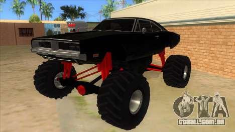 1969 Dodge Charger Monster Truck para GTA San Andreas