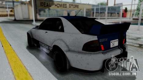 GTA 5 Karin Sultan RS Rally PJ para o motor de GTA San Andreas