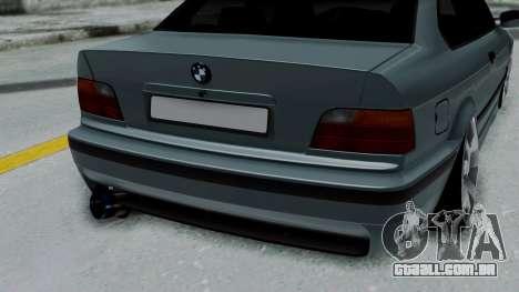 BMW 320 E36 Coupe para GTA San Andreas vista traseira