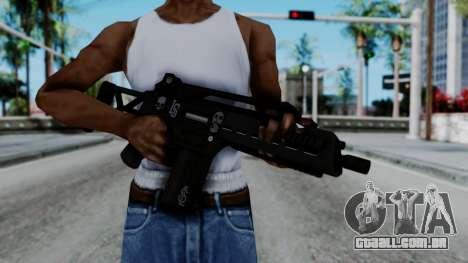 G36k from GTA 5 para GTA San Andreas terceira tela