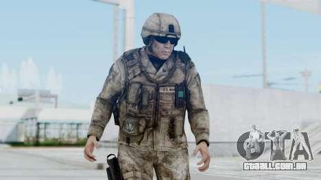 Crysis 2 US Soldier 1 Bodygroup A para GTA San Andreas