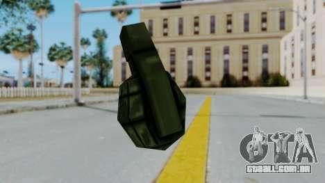 GTA 3 Grenade para GTA San Andreas terceira tela