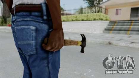 GTA 5 Hammer para GTA San Andreas terceira tela