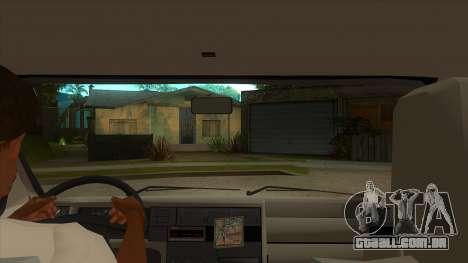 VW T4 Mrtvačka rodas para GTA San Andreas vista interior