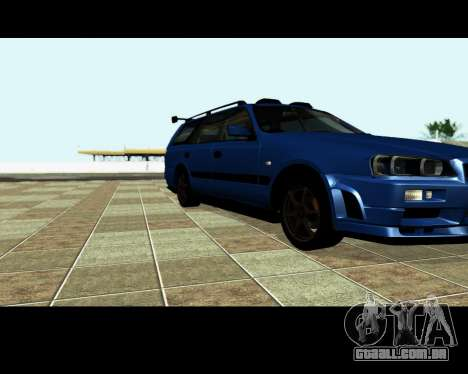 Nissan Stagea Tunable para as rodas de GTA San Andreas