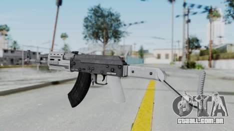 GTA 5 Assault Rifle - Misterix 4 Weapons para GTA San Andreas segunda tela