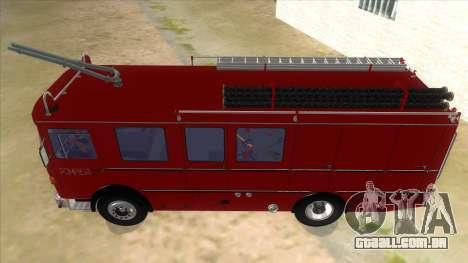 Roman 8135 FA para GTA San Andreas vista interior