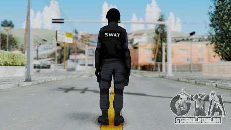 S.W.A.T v3 para GTA San Andreas terceira tela