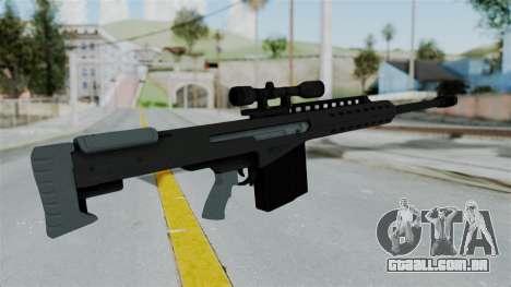 GTA 5 Heavy Sniper (M82 Barret) para GTA San Andreas terceira tela