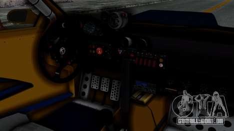 GTA 5 Karin Sultan RS Rally PJ para GTA San Andreas vista direita