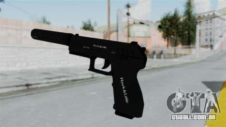 GTA 5 Combat Pistol para GTA San Andreas terceira tela