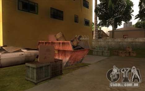 O trabalho de reparação Grove Street para GTA San Andreas décimo tela