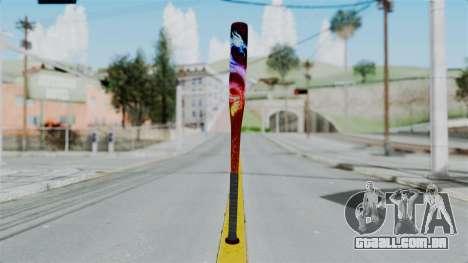 GTA 5 Baseball Bat 3 para GTA San Andreas segunda tela