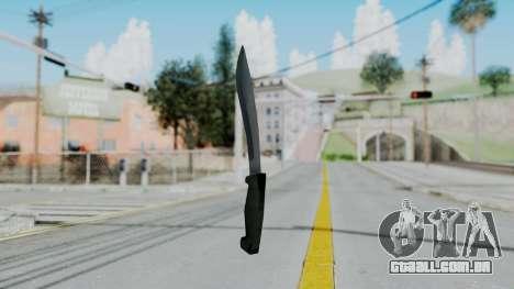 Vice City Knife para GTA San Andreas segunda tela