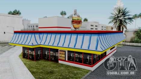 Burger King Texture para GTA San Andreas terceira tela