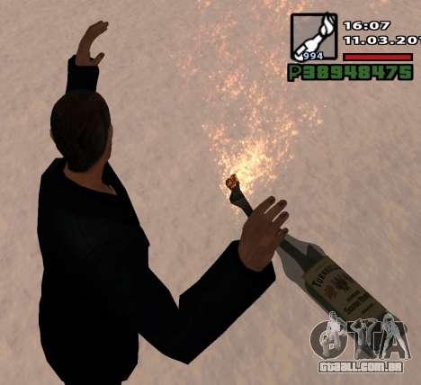 Um Coquetel Molotov para GTA San Andreas