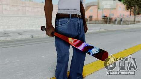 GTA 5 Baseball Bat 3 para GTA San Andreas
