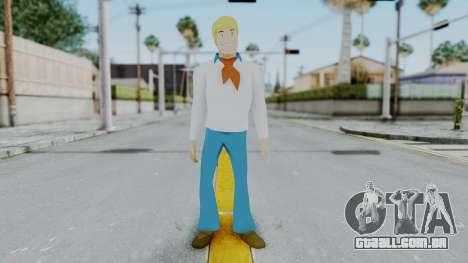 Scooby Doo Fred para GTA San Andreas segunda tela
