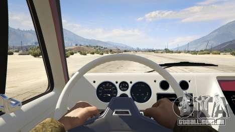 GTA 5 GMC Vandura (A-Team Van) voltar vista