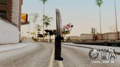 Batman Arkham City - Knife para GTA San Andreas