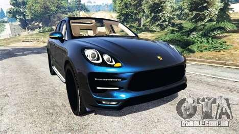 Porsche Macan Turbo 2015 para GTA 5