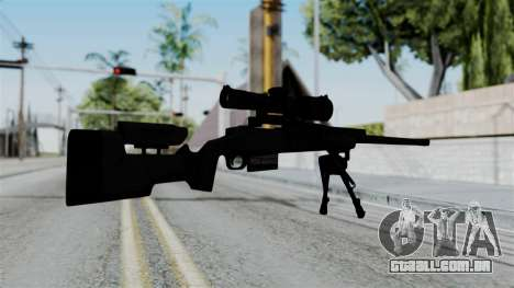 TAC-300 Sniper Rifle para GTA San Andreas segunda tela