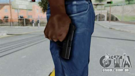 HK45 Black para GTA San Andreas terceira tela