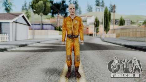 CS 1.6 Hostage A para GTA San Andreas segunda tela