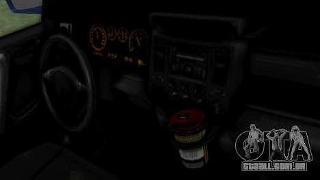GTA 5 Albany Cavalcade v2 IVF para GTA San Andreas vista direita