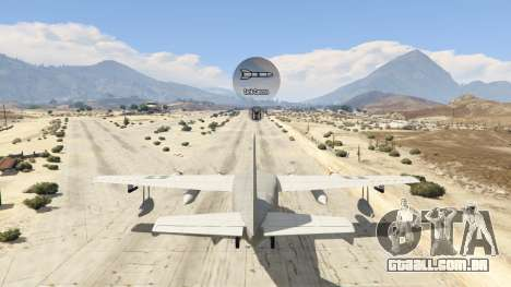 GTA 5 Amphibious Plane nono screenshot
