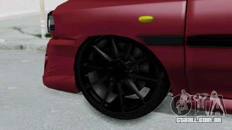 Kia 131 SX Full Tuning para GTA San Andreas traseira esquerda vista