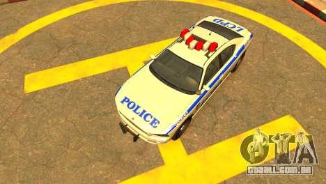 Bravado Buffalo Police Patrol [original wheels] para GTA 4 vista direita